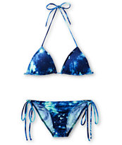 See You Monday Blue Galaxy Bikini Set