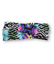 See You Monday Multicolor Tribal Print Headband