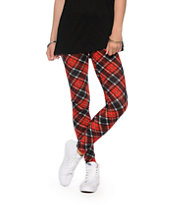 See You Monday Plaid Leggings