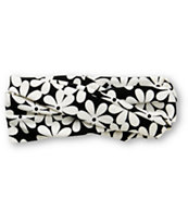 See You Monday Retro Daisy Black & White Headband
