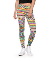 See You Monday Tie Dye Leggings