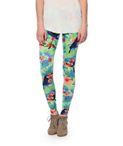 See You Monday Tropical Toucan Leggings