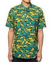 Shake Junt Mascot Craze Button Up Shirt