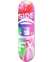 "Side FX Rainbow Monkey 8.0"" Skateboard Deck"