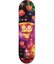 "Side FX Space Pizza 8.0"" Skateboard Deck"