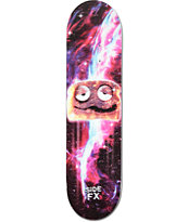 "Side FX Space Toast 7.75"" Skateboard Deck"