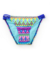 Since By Malibu Deco Ling Hipster Side Strap Bikini Bottom