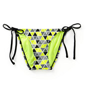 Since By Malibu Pyramids Side Tie Bikini Bottom