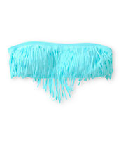 Since By Malibu Sunkissed Fringe Bandeau Bikini Top