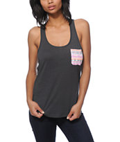 Sirens & Dolls Eye Of The Beholder Pocket Tank Top