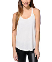 Sirens & Dolls Natural Nubby Tank Top