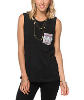 Sirens & Dolls Warrior Pocket Muscle Tee