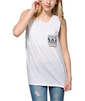 Sirens & Dolls Warrior Tribal Pocket Muscle Tee