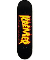 "Sk8Mafia Kremer Flames 8.25"" Skateboard Deck"
