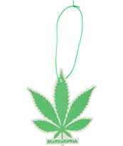 Skate Mental Magic Leaf Air Freshener