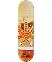 Skate Mental Pizza Leaf 8.0 Skateboard Deck