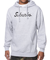 Skate Mental The Suburbs Heather Grey Pullover Sweatshirt
