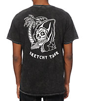 Sketchy Tank Happy Hour Stone Wash T-Shirt
