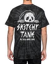 Sketchy Tank Lurk Tie Dye T-Shirt