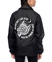 Sketchy Tank Opinions Black Coaches Jacket