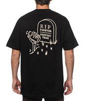 Sketchy Tank Ripping Pocket T-Shirt