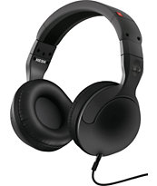 Skullcandy Hesh 2.0 Carbon & Red Mic'd Headphones