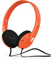 Skullcandy Uprock Orange Headphones