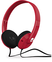 Skullcandy Uprock Red & Black Headphones