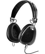 Skullcandy x Roc Nation Aviator Mic'd Black Headphones