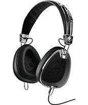 Skullcandy x Roc Nation Aviator Mic'd Black Headphones