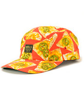 Skulls Nachos Red 5 Panel Hat