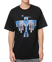 Sky Culture Aztec Galaxy Black Tee Shirt