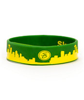 Skybands Seattle Skyband Green & Yellow Bracelet