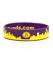Skybands Seattle Skyband Purple & Yellow Bracelet
