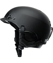 Smith Gage Matte Black 2014 Snowboard Helmet