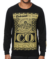 So-Gnar In Colorado We Trust Crew Neck Sweatshirt