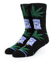 South Park x HUF Towelie Plantlife Crew Socks