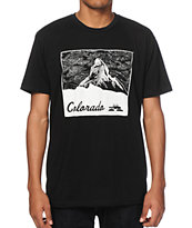 Spacecraft CO Mountain Black T-Shirt