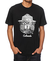 Spacecraft CO Tokey The Bear Black T-Shirt