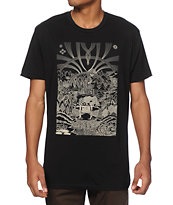 Spacecraft CO Welcome To Colorado Black T-Shirt