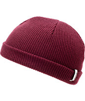 Spacecraft Jet City Dark Red Beanie