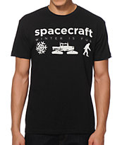 Spacecraft Made From Winter T-Shirt