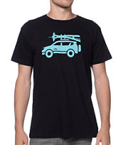 Spacecraft Moving Day Black Tee Shirt