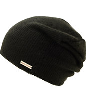 Spacecraft Quinn Black Beanie
