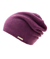 Spacecraft Quinn Purple Beanie
