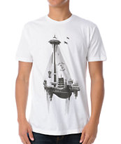 Spacecraft S.S. Spacecraft White Tee Shirt
