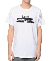 Spacecraft Snowcat White Tee Shirt