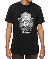 Spacecraft WA Tokey The Bear Black T-Shirt