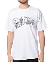 Spacecraft x Electric Coffin Postcard White Tee Shirt