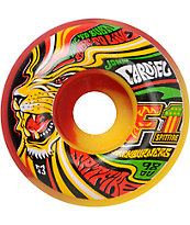 Spitfire Cardiel King Rasta Park Burners 53mm Skateboard Wheels